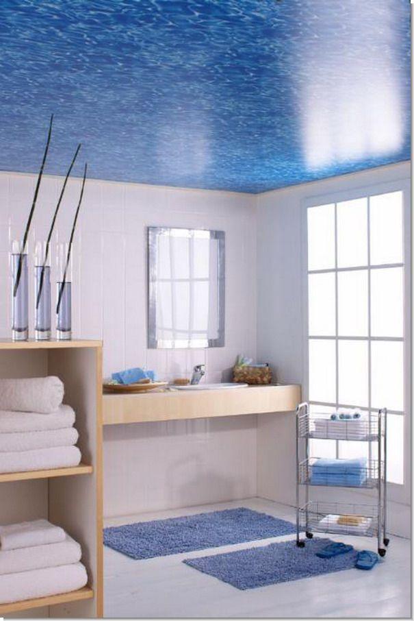 Отделка ванной комнаты краской фото 15.